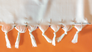 Tallit How to Knot Fringe