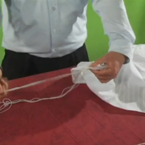 The Best Video Ever on How to Tie Tzitzit