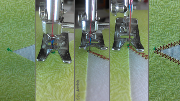machine applique tight inner corner