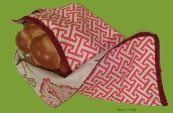 challah cover with zing