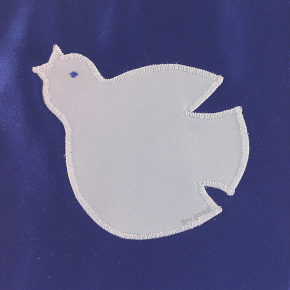 Sew a Little Peace in the World with this Free Dove Applique Pattern [PDF]