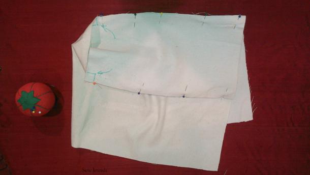 pin sides shopping bag