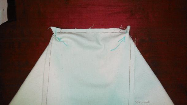 sew bottom fabric shopping bag