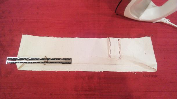 sew reusable shopping bag