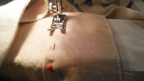 sew shopping bag