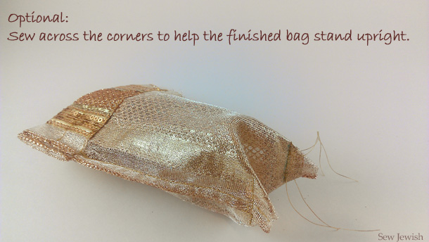How to sew a party favor bag