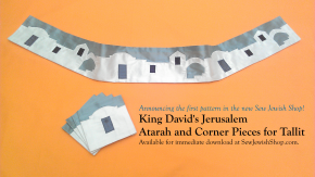 Introducing the First Pattern in the New Sew Jewish Shop