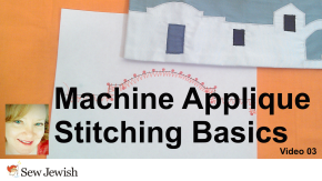 Machine Applique Stitching Tutorial | Video