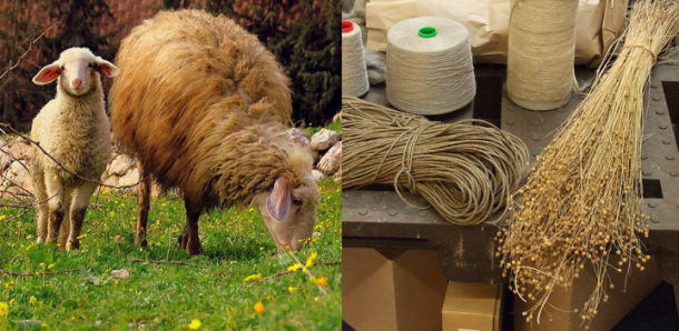 wool and linen