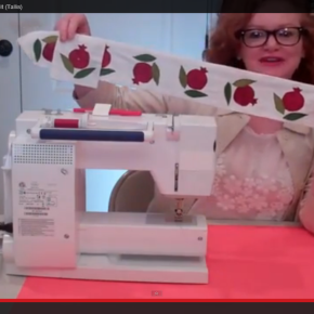 How to Sew the Pomegranate Atarah for a Tallit | Video Tutorial