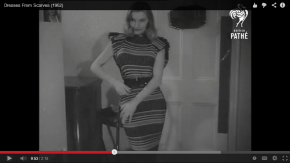How to Sew a Dress from Scarves – And More Video Gems from British Pathe