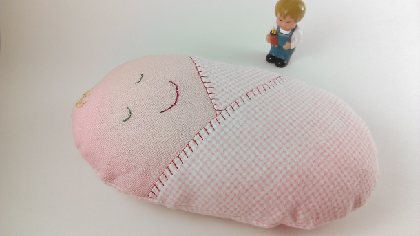 doll pillow