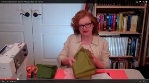 Silk Applique Video Screenshot