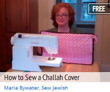 how to sew a challah cover
