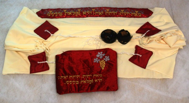 handmade tallit and tefillin