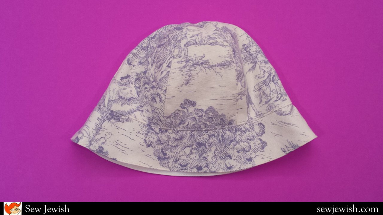 A Bucket Hat Pattern for Sun and Synagogue  Free and Ready to Print ... 451e98d482a3