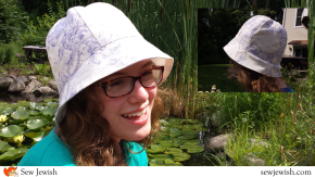 A Bucket Hat Pattern for Sun and Synagogue [Free and Ready to Print!]