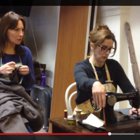 Actors Learn to Sew for The Cutting of the Cloth (Video)