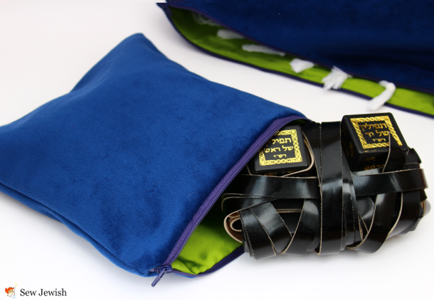 How to Sew a Tefillin Bag