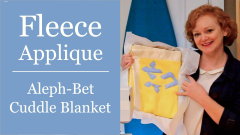 How to sew fleece cuddle blanket