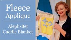 How to sew fleece cuddle blanket