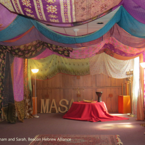 Synagogue Sews a Colorful Fabric Sanctuary: A Tent of Abraham and Sarah