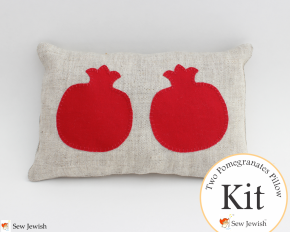 New: Pomegranate Pillow Kit