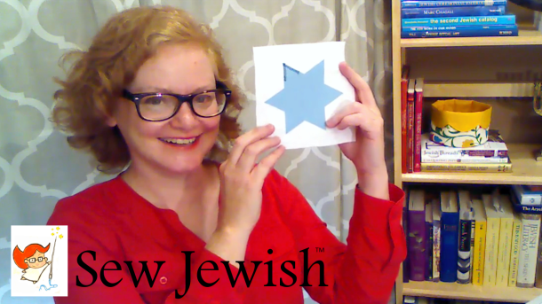 Star of David machine applique tutorial thumbnail