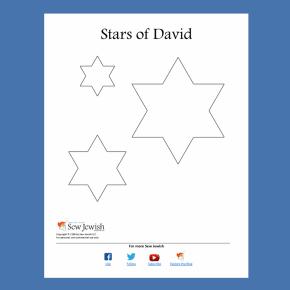 Free Star of David Pattern[PDF]