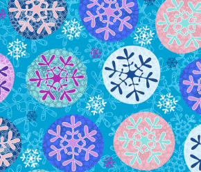 More Adventures in Six-Pointed Stars: Snowflakes!