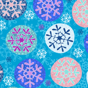 More Adventures in Six-Pointed Stars:Snowflakes!