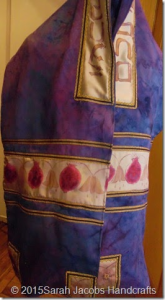 Tallit by Sarah Jacobs.