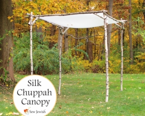 The First Step in Making Your Unique Wedding Chuppah Is Already Finished