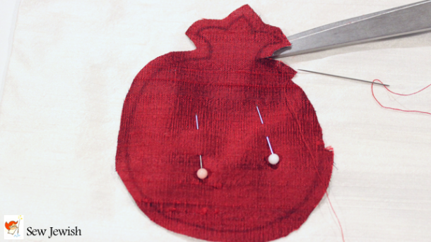 How to hand applique with silk