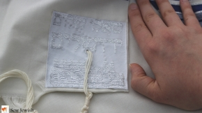 Where do you put the tzitzit holes on your tallit? Follow this ancient rule ofthumb