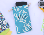 Beginner Sewing Class Cell Phone Sleeping Bag