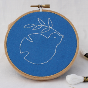 How to Embroider the Backstitch