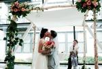 wedding chuppah birch frame