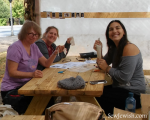 Beacon Sukkah Project Sewing in the sukkah drawn thread embroidery 2017
