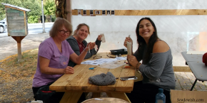 Introduction to Drawn Thread Embroidery – Open Sky Sukkah Workshop