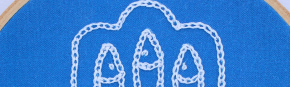 How to Embroider an Isolated Chain Stitch