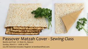 Jewish sewing class