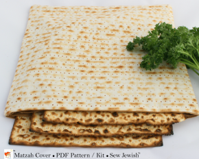Where to Buy Matzah Print Fabric