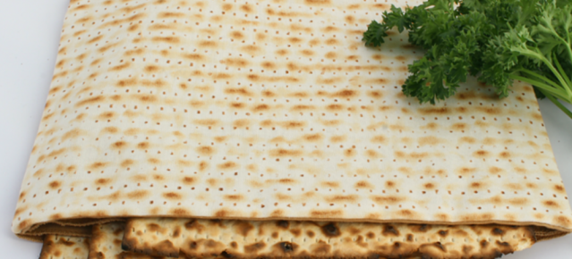 Matzah Cover without Hebrew Word Matzah