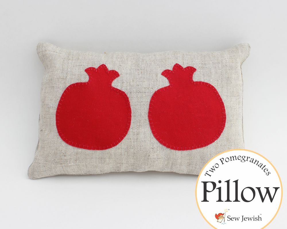 pomegranates pillow buy