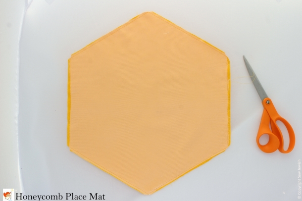 Honeycomb Place Mat Sewing Instructions