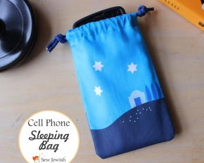This Cell Phone Bag Is Ready to Ship for Hanukkah