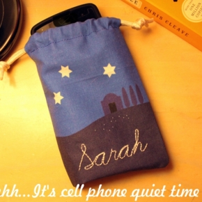 Personalize Your Cell Phone Sleeping Bag