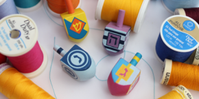 How to Play the Dreidel Game – The Rules in Fabric andThread