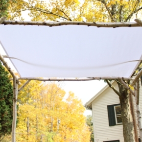 5 Tips for Using a Birch Branch Wedding Chuppah Kit